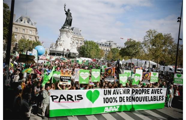 Climate march Paris