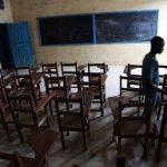 liberia school classroom ebola