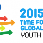 time for global action 2015 youth forum logo