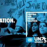 We are looking for youth to represent their country in an upcoming UN75 event!